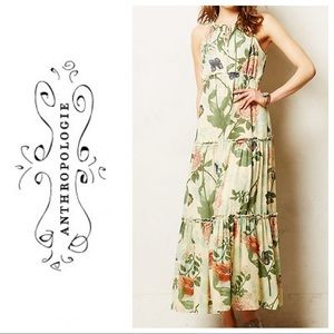 Anthropologie Maeve Maravilla maxi dress